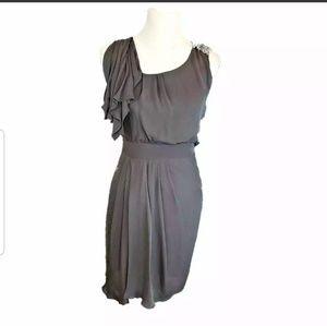 Cynthia Steffe Women Smokey Grey Dress Size 0
